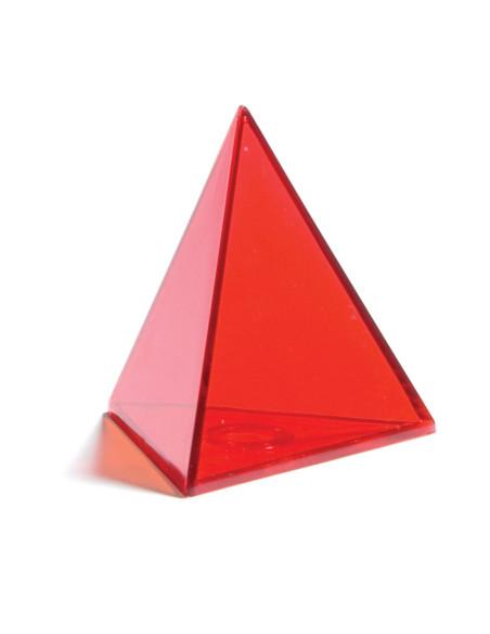Przezroczyste kolorowe geometryczne kształty