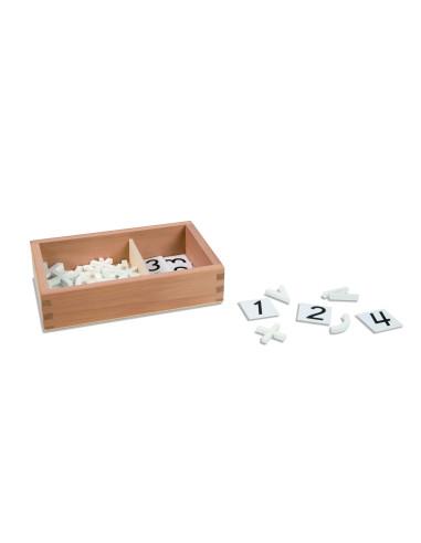 Nienhuis - Pudełko ze znakami matematycznymi