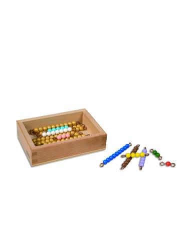 Nienhuis - Pudełko z koralikami do tablic Seguina, (11-19)