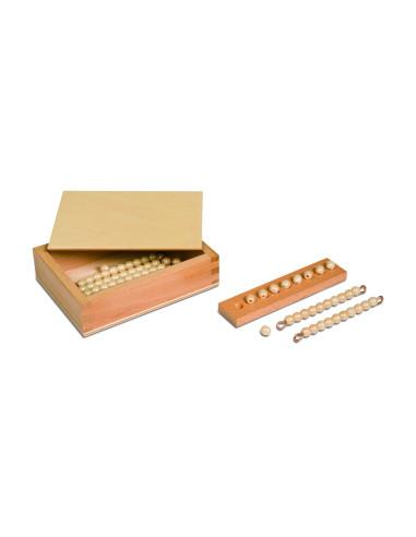 Nienhuis - Pudełko z koralikami do tablic Seguina