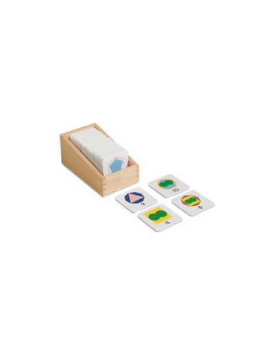 Nienhuis - Karty z liczbami - małe (7 x 7 cm)