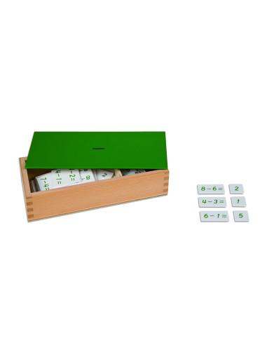 Nienhuis - Pudełko z zadaniami na odejmowanie