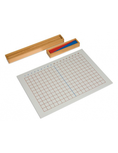 Nienhuis - Tablica i pudełko z listewkami, odejmowanie