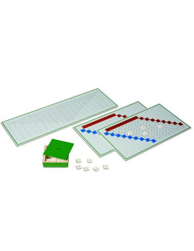 Nienhuis - Tablice do ćwiczeń, odejmowanie