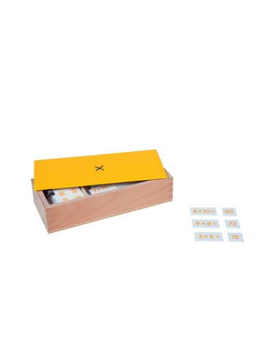 Nienhuis - Pudełko z zadaniami na mnożenie