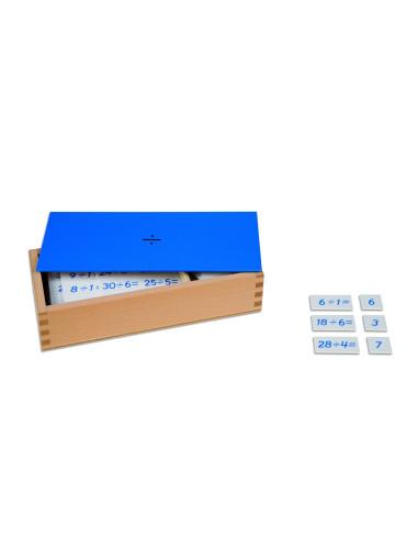 Nienhuis - Pudełko z zadaniami na dzielenie