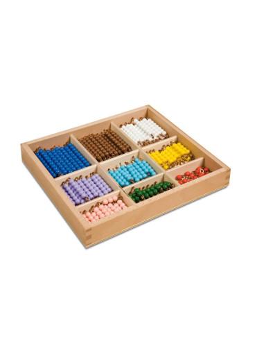 Nienhuis - Pudełko z koralikami do tablicy szachownicy