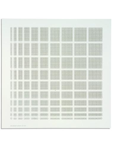 Nienhuis - Pudełko z koralikami - arkuszy papieru