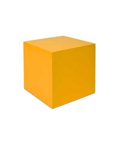 Nienhuis - Żółty sześcian 27x27x27 cm