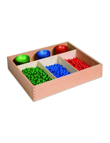 Nienhuis - Pudełko z kołeczkami do tablicy algebraicznej