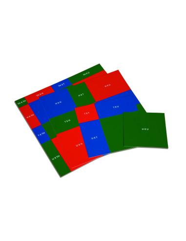 Nienhuis - Wzory do tablicy algebraicznej