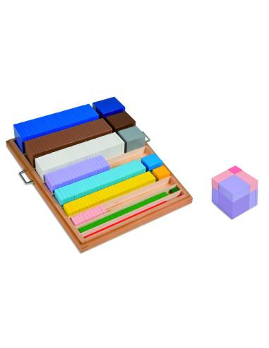Nienhuis - Drewniane kolorowe kwadraty