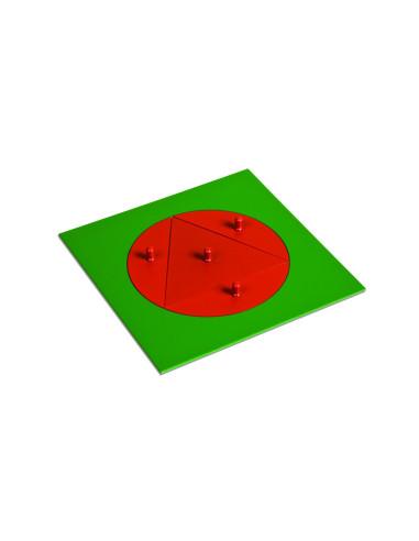 Nienhuis - Trójkąt wpisany w koło