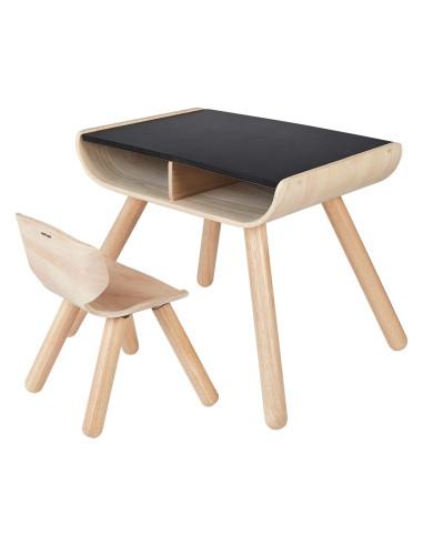 Stół i krzesła - czarny