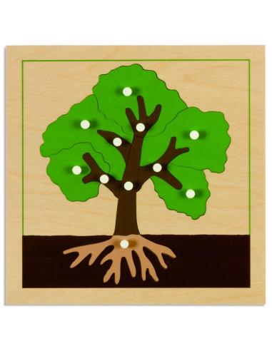 Nienhuis - Puzzle botaniczne - drzewo