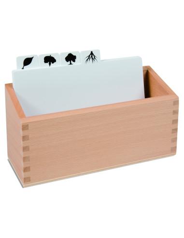 Nienhuis - Pudełko do kart pracy - puzzle zwierzęta
