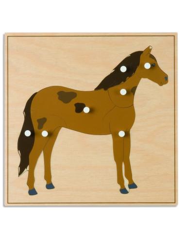 Nienhuis - Puzzle ze zwierzętami - koń