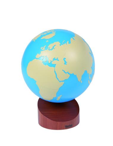 Nienhuis - Globus - części świata