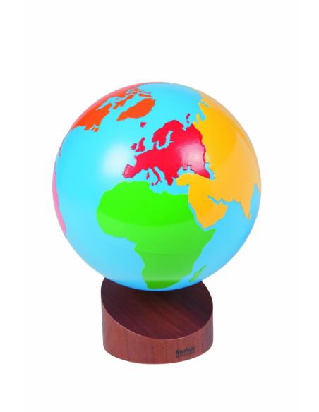 Nienhuis - Globus - kontynenty