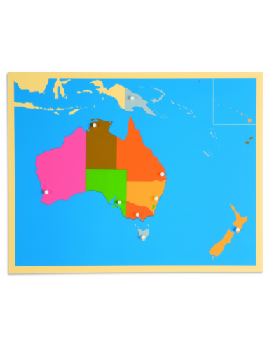 Nienhuis - Puzzlowa mapa Australii
