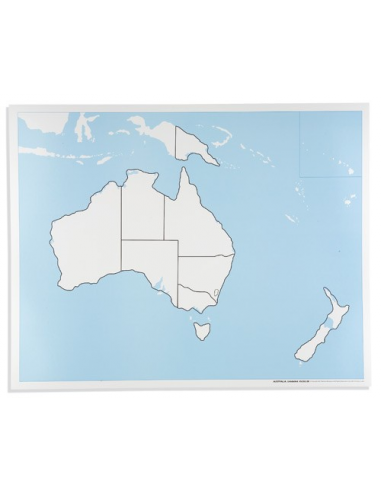 Nienhuis - Australia - mapa do pracy