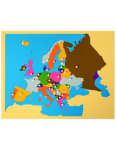 Nienhuis - Puzzlowa mapa Europy