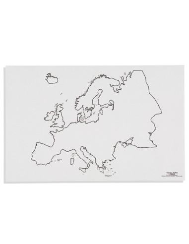Nienhuis - Mapa Europy