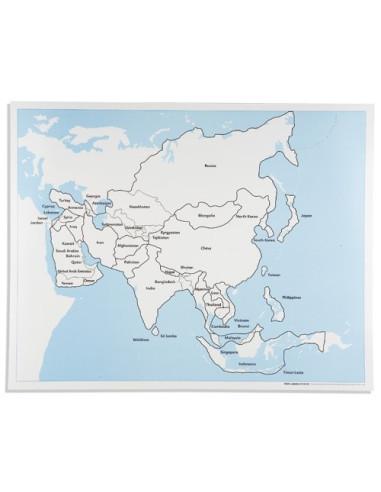Nienhuis - Azia - mapa kontrolna, z podpisami