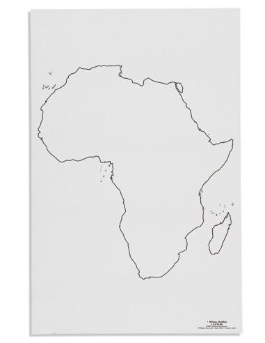 Nienhuis - Mapa Afryky