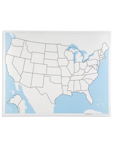 Nienhuis - USA - mapa do pracy