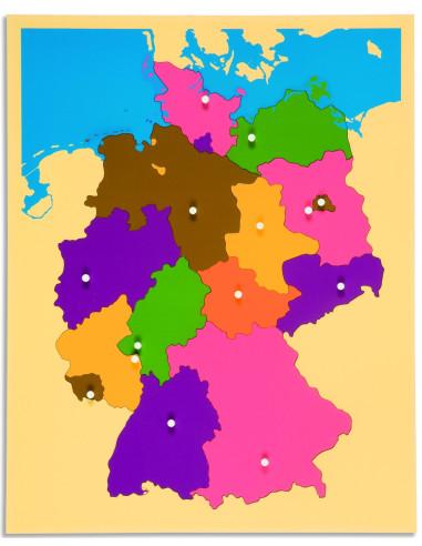 Nienhuis - Puzzlowa mapa - Niemcy