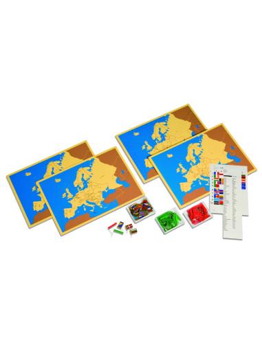 Nienhuis - 4 mapy Europy
