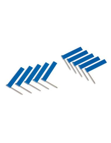 Nienhuis - Flagi niebieskie, 10 szt