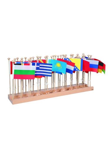 Nienhuis - Stojaki z flagami - Europa