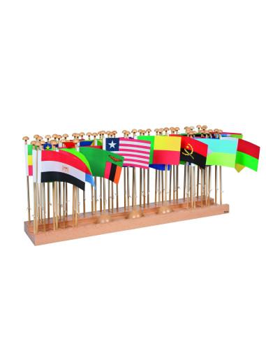 Nienhuis - Stojaki z flagami - Afryka