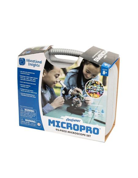 Mikroskop (50x - 600x), zestaw