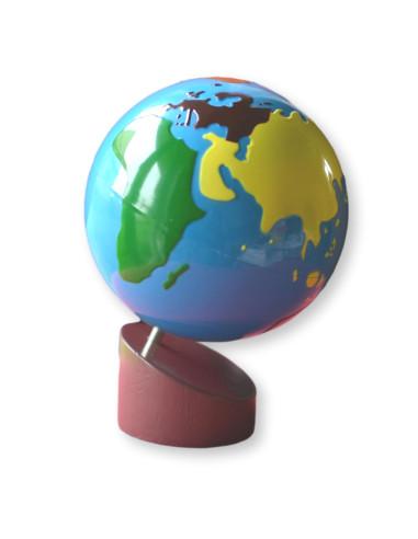 Globus Kontynenty