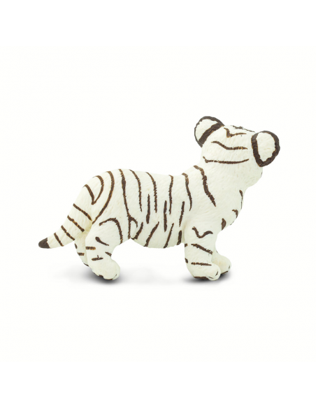 Młode białego tygrysa bengalskiego