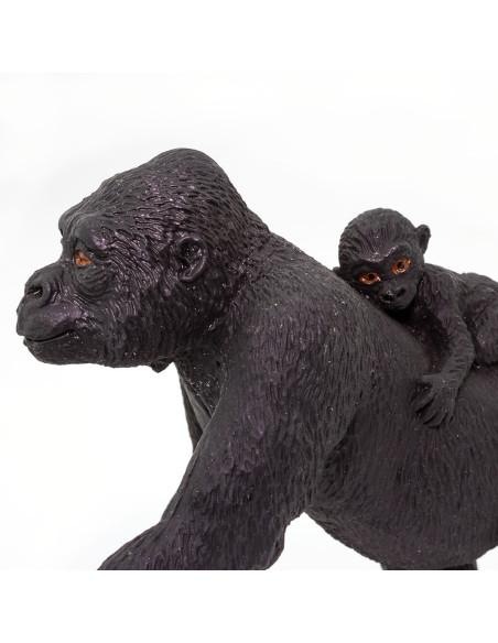 Goryl nizinny z młodym
