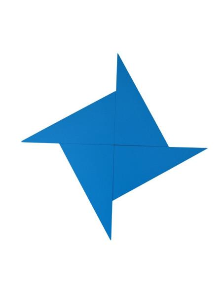 Niebieskie trójkąty