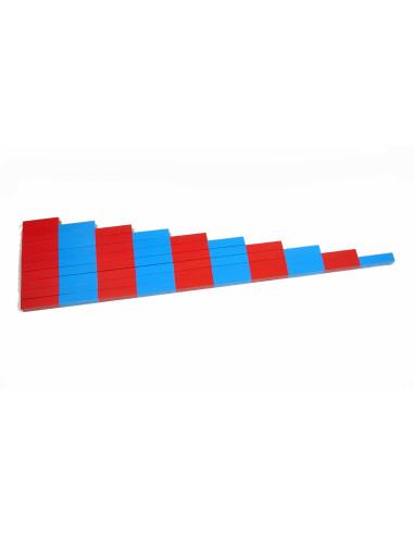 Drążki numeryczne (drewno bukowe)