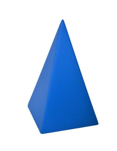Bryła geometryczna - ostrosłup o podstawie kwadratu