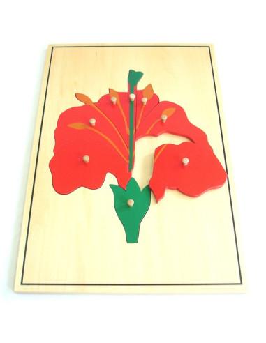 Puzzle  - Duży kwiat