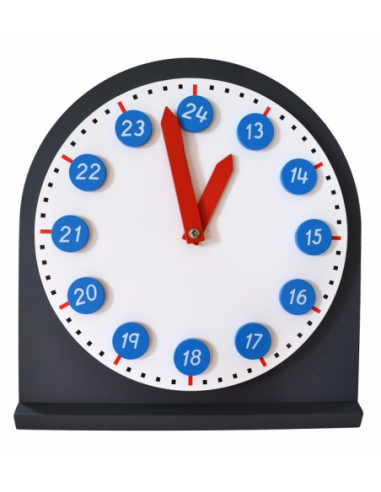 Zegar z ruchomymi wskazówkami