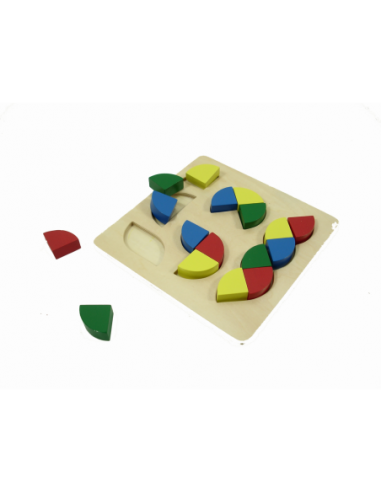 Kolorowa układanka - wariacje figur