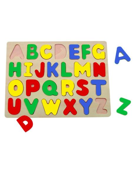 Puzzle na podkładce – Alfabet