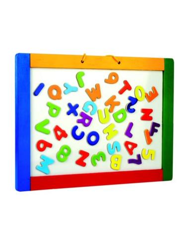 Magnetyczna tablica do zawieszenia z literami – obustronna