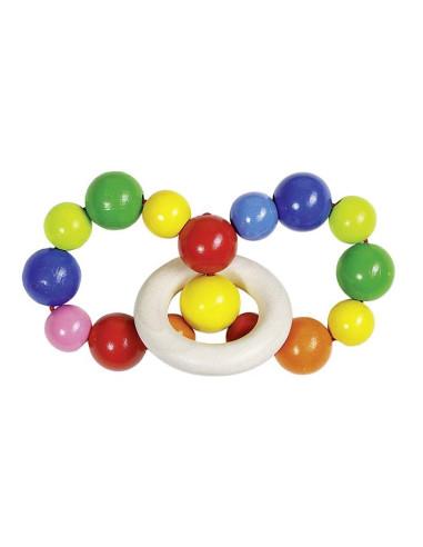 Zabawka do rączki dla niemowląt - 2 pierścienie