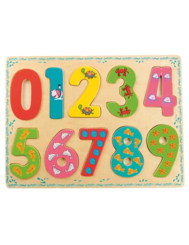 Puzzle – liczby